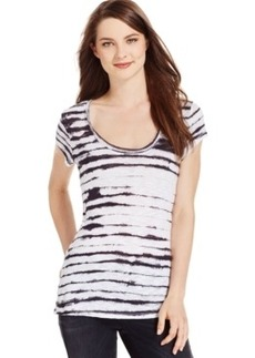 Calvin Klein Jeans Short-Sleeve Striped T-Shirt