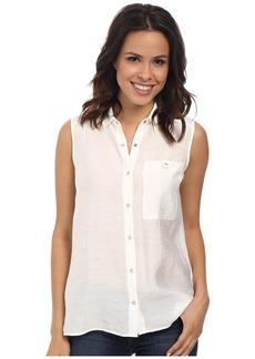 Calvin Klein Jeans Sleeveless Knit Back Utility Shirt