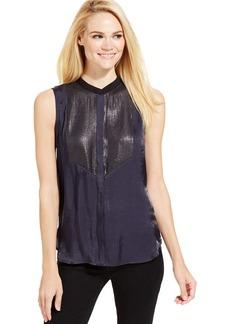 Calvin Klein Jeans Sleeveless Sequin Shirt