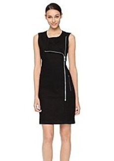 Calvin Klein Jeans Sleeveless Zip Dress