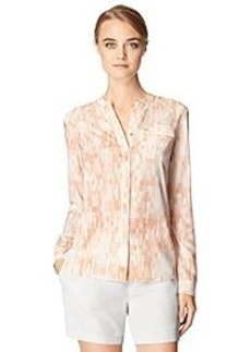 Calvin Klein Jeans® Split Front Printed Shirt