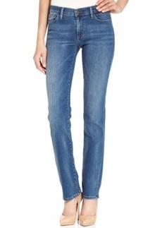 Calvin Klein Jeans Straight-Leg Jeans, Blue Porcelain Wash
