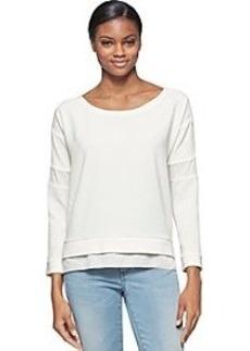 Calvin Klein Jeans® Texture Block Top