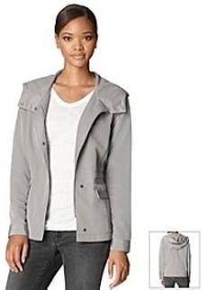 Calvin Klein Jeans Texture Detail Hooded Jacket