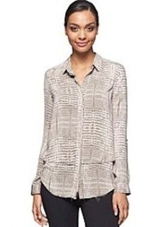Calvin Klein Jeans® Tiered Snake Print Top
