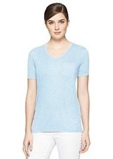 Calvin Klein Jeans® V-Neck Slub Tee