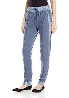 Calvin Klein Jeans Women's Acid Wash Skinny Jogger Pant, Scorched Denim, Large
