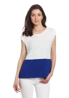 Calvin Klein Jeans Women's Color Block Top