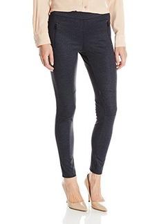 Calvin Klein Jeans Women's Denim Ponti Legging, Raw Indigo, 12