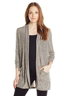 Calvin Klein Jeans Women's Downtown Cardigan, Pumice, Small