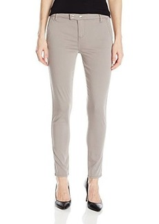 Calvin Klein Jeans Women's Hardware Trimmed Skinny Pant, Mortar, 32