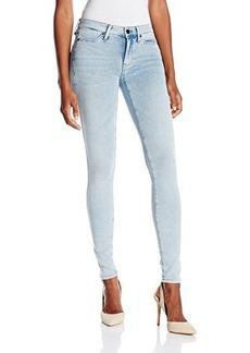 Calvin Klein Jeans Women's Knit Legging- Powder, Powder Blue Knit, 29
