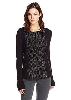 Calvin Klein Jeans Women's Lurex Mix Media Sweater