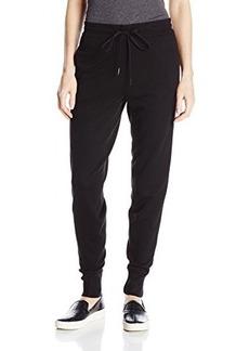 Calvin Klein Jeans Women's Luxe Jogger Pant, Black, Large