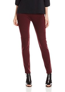 Calvin Klein Jeans Women's Pull On Ponte Legging, Cranberry, X-Large