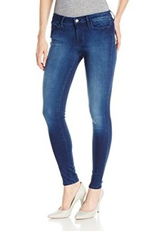 Calvin Klein Jeans Women's Skinny Fit Legging, Mid Used Blue, 30