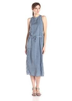Calvin Klein Jeans Women's Slim Shoulder Sinch Dress, Blur, Medium