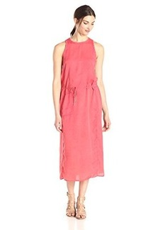 Calvin Klein Jeans Women's Slim Shoulder Sinch Dress, Wildflower, Small