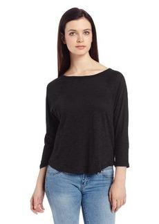 Calvin Klein Jeans Women's Solid Dolman Sleeve Tee
