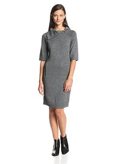Calvin Klein Jeans Women's Sweater Dress with Zippers