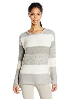 Calvin Klein Jeans Women's Textured Color-Block Sweater