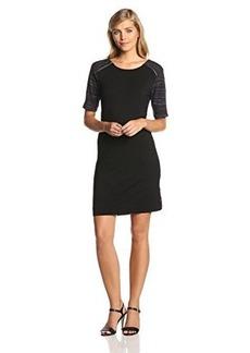Calvin Klein Jeans Women's Zip-Shoulder T-Shirt Dress