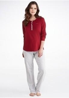 Calvin Klein Jersey Knit Pajama Set