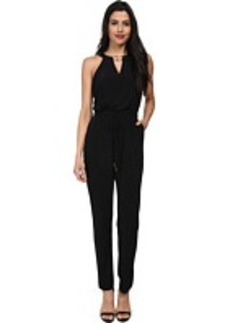 Calvin Klein Jumpsuit with Gold Neck Hardware CD4A1459