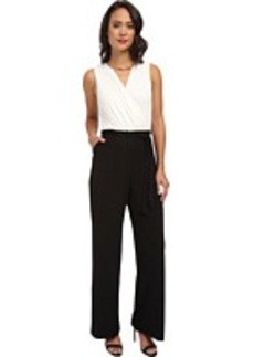 Calvin Klein Jumpsuit with Gold Neck Hardware CD4A1461