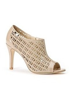 "Calvin Klein ""Kailani"" Perforated Peep-toe Heels"