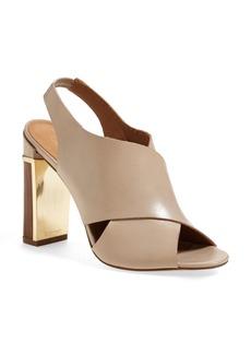 Calvin Klein 'Karel' Crisscross Strap Slingback Sandal (Women)