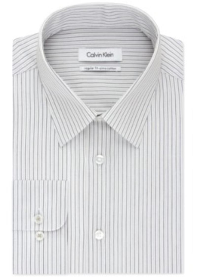 calvin klein calvin klein kiwi stripe dress shirt dress