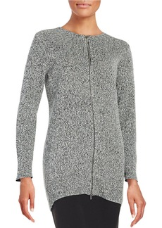 CALVIN KLEIN Knit Zip Cardigan