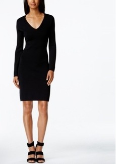 Calvin Klein Lace-Up Back Sheath Dress