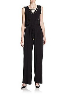 Calvin Klein Lace-up Jumpsuit