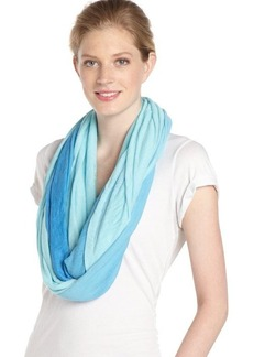 Calvin Klein lake blue and crystal blue ombre accent 'Infinity' scarf