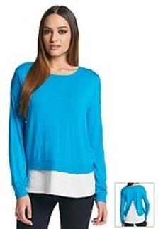 Calvin Klein Layered Long Sleeve Top
