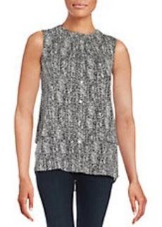 CALVIN KLEIN Layered-Style Blouse
