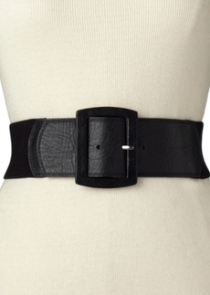 Calvin Klein Leather Tab Stretch Belt