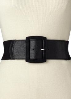 Calvin Klein Leather Tab Stretch Belt