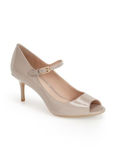 Calvin Klein 'Leila' Peep Toe Pump (Women)
