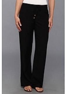 Calvin Klein Linen Wide Leg Pant
