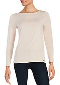 CALVIN KLEIN Liquid Jersey Top