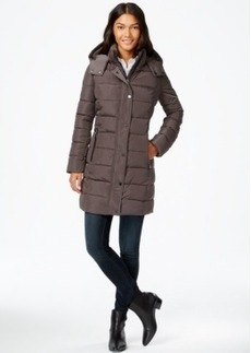 Calvin Klein Long Quilted Puffer Coat