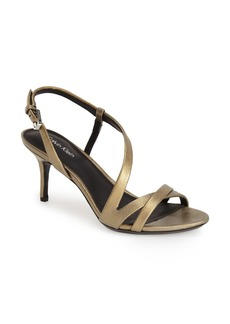 Calvin Klein 'Lorren' Leather Sandal (Women)