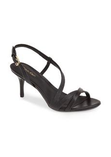 Calvin Klein 'Lorren' Leather Sandal (Women)