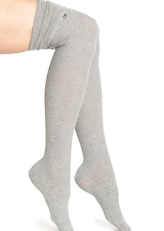 Calvin Klein 'Lottie' Ribbed Over the Knee Socks