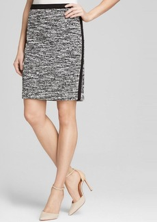 Calvin Klein Marled Tweed Pencil Skirt - Bloomingdale's Exclusive