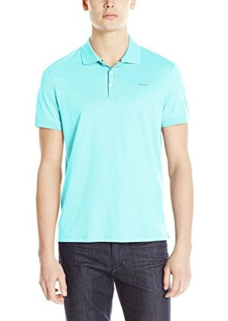 Calvin Klein Men 39 S Liquid Solid Polo Shirt