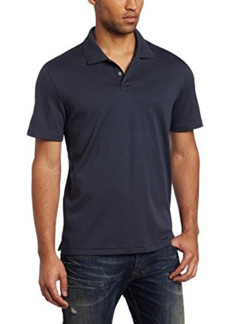 Calvin Klein Men 39 S Liquid Cotton Striped Polo Shirt